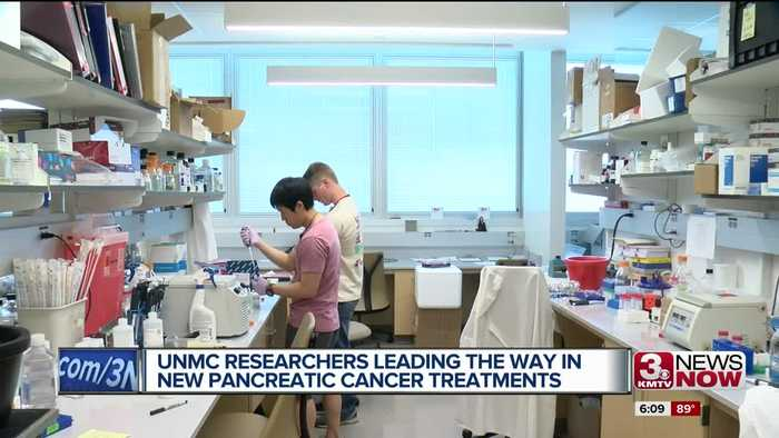 UNMC researchers leading the way in new pancreatic cancer treatment