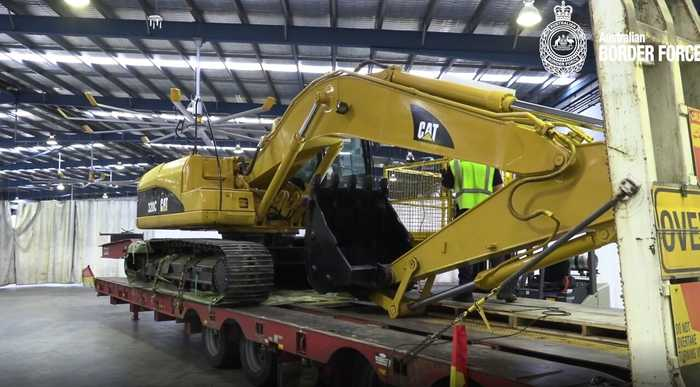 Excavator Packed With 384 Kilograms of Cocaine Leads to Two Arrests in Bungendore