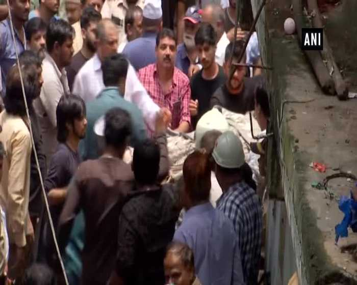 4 storey building collapses in Mumbai Dongri over 40 feared trapped