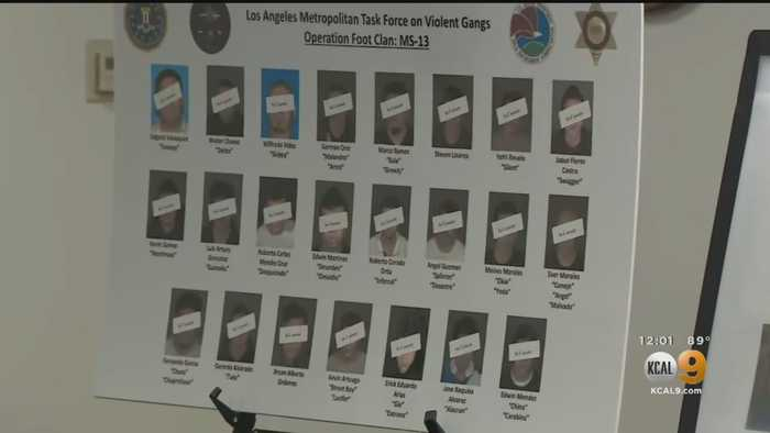 Nearly Two-Dozen MS-13 Gang Members Charged With Machete Murders In Angeles National Forest