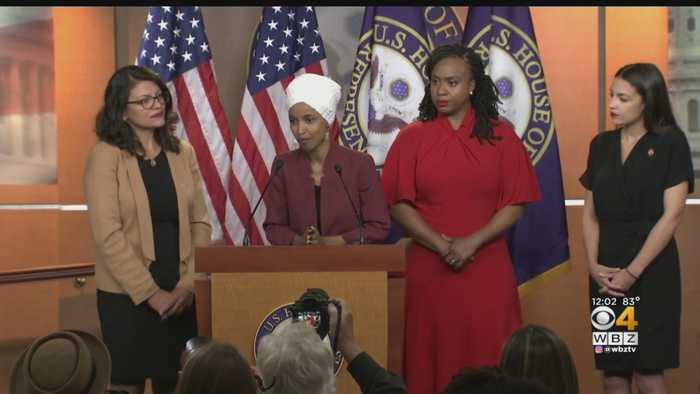 President Trump Denies Tweets About Democratic Congresswomen Are Racist
