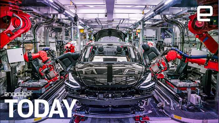 Tesla workers say they used electrical tape in Model 3 production | Engadget Today