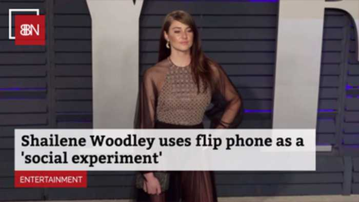 You Can Catch Shailene Woodley On Her Flip Phone