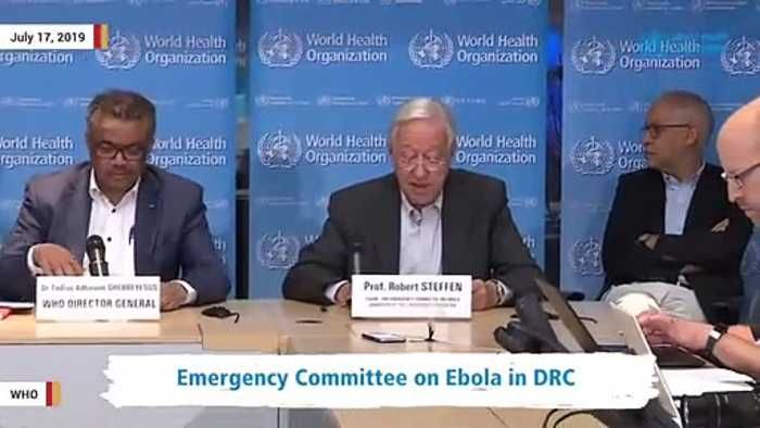 WHO Announces Congo's Ebola Outbreak A 'Health Emergency Of International Concern'