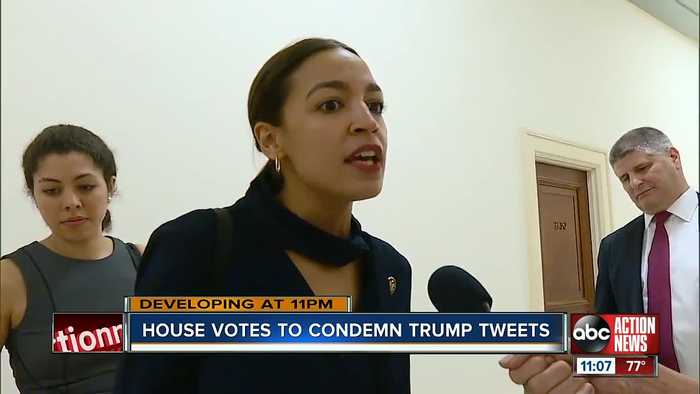 House votes to condemn President Trump's 'go home' comments