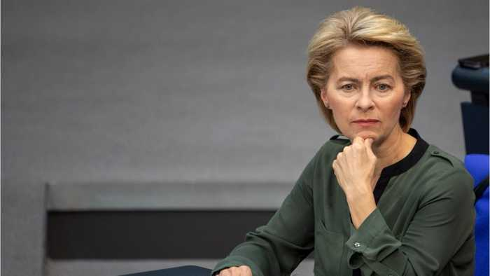 Von der Leyen doesn't reveal who she prefers to be the next Prime Minister