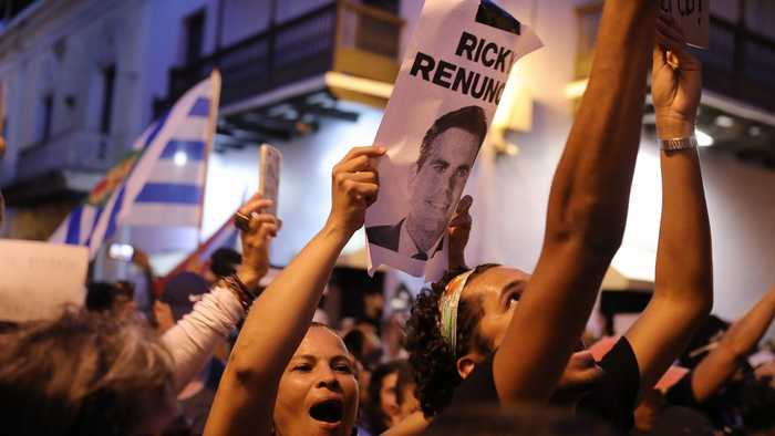 Puerto Rico's Governor Says He Won't Resign Amid Protests