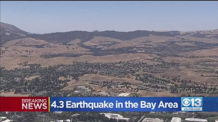 Bay Area Quake Felt In Stockton