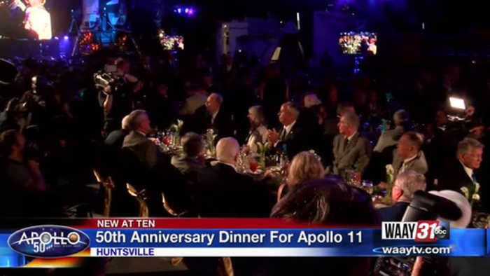 Apollo 11 anniversary dinner interrupted by multiple power outages
