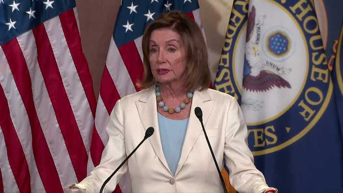 House will 'deal with' impeachment resolution: Pelosi