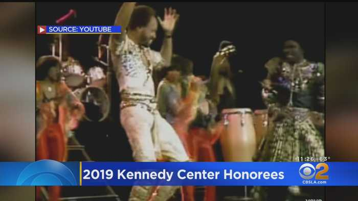 Earth, Wind And Fire, Sally Field Among 2019 Kennedy Center Honorees
