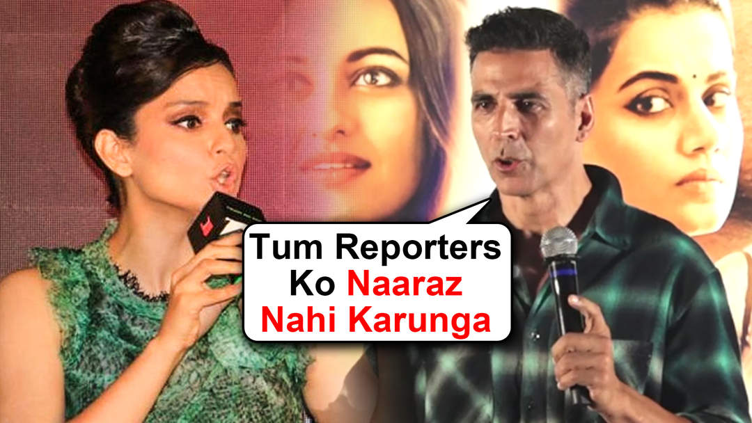 Image result for AKSHAY KUMAR TALKING ABOUT KANGANA