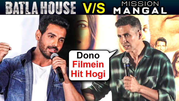 Akshay Kumar EPIC REACTION On Clash With John Abraham's Batla House