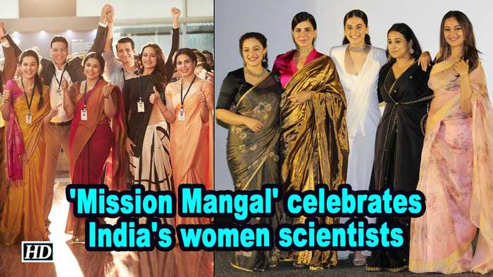 'Mission Mangal' celebrates India's women scientists