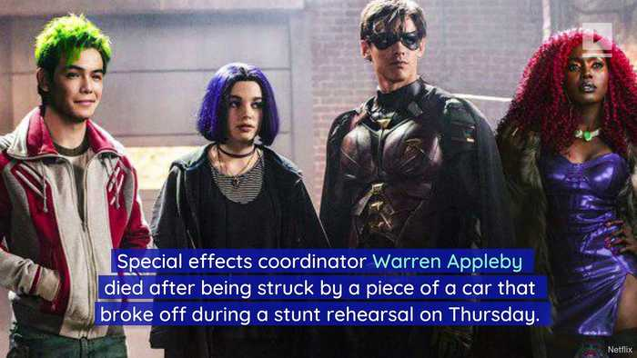 'Titans' Crew Member Killed After Stunt Goes Wrong