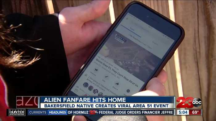 Area 51 event created by Bakersfield man