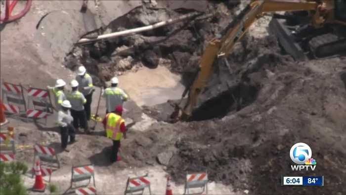 Police: Palm Beach County company caused Fort Lauderdale water main break