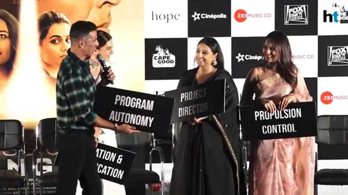 Mission Mangal | Akshay, Vidya Balan, Sonakshi & others attend trailer launch