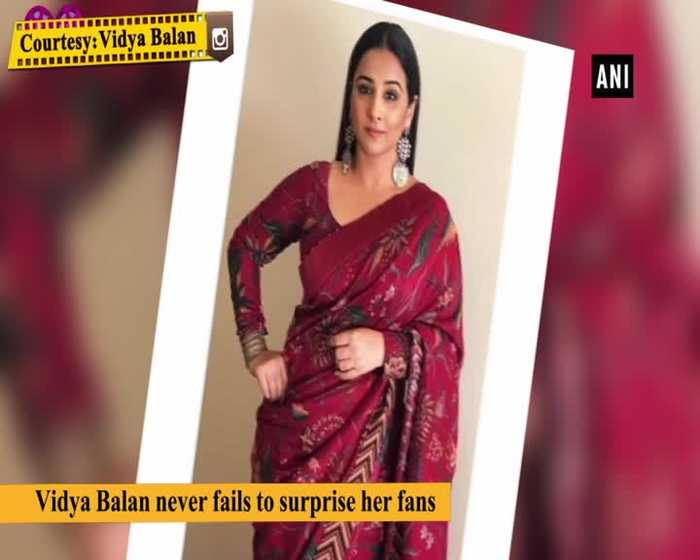 Vidya Balan surprises fans with Tak Tuk video