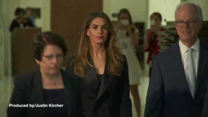 House Judiciary Wants Hope Hicks to Clarify Testimony Related to Michael Cohen