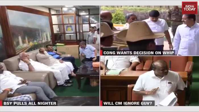 Karnataka Governor asks HD Kumaraswamy to prove majority, floor test today