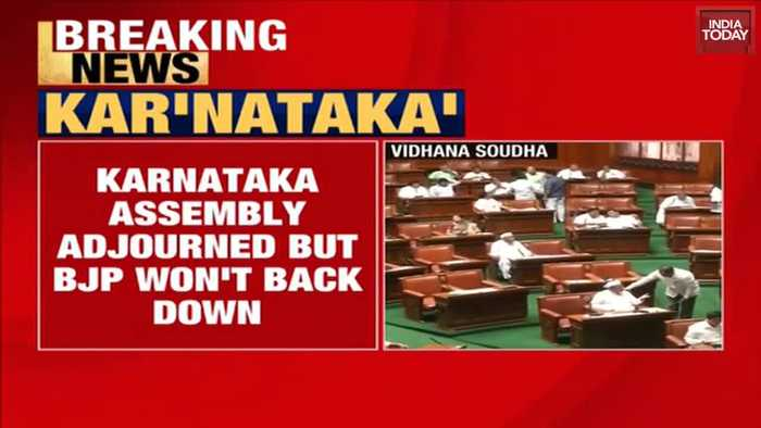 Karnataka crisis: BJP leaders to camp all night at assembly