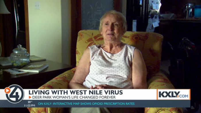 Woman suffers brain damage from West Nile Virus