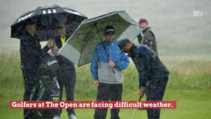 Golfers At The 2019 British Open Face Very Difficult Weather