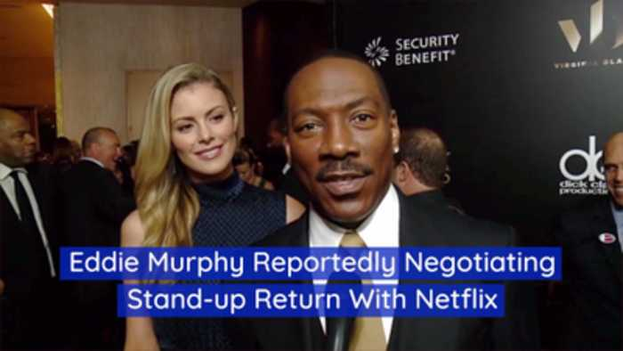 Eddie Murphy Is Making His Way Back To Comedy