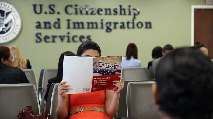 Immigration Officials Announce Changes To U.S. Naturalization Test