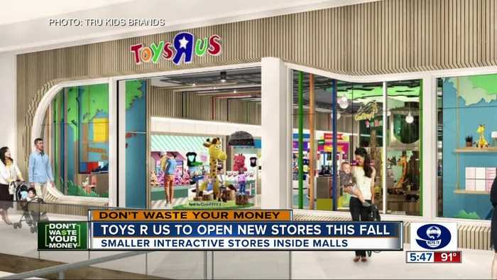 Toys R Us to open new stores this fall