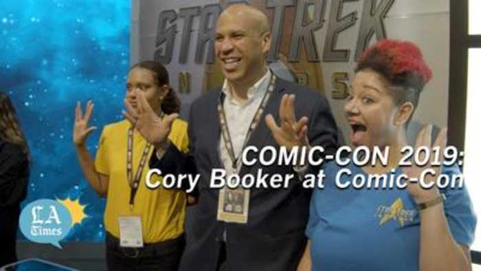 Cory Booker comes to Comic-Con 2019