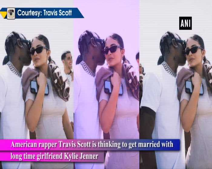 Travis Scott is totally into the idea of marrying Kylie Jenner
