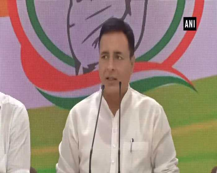 Randeep Surjewala lashes out at CM Yogi after police detain Priyanka Gandhi
