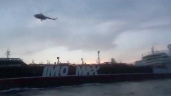 British and Iranian forces trade blame over ship seizures