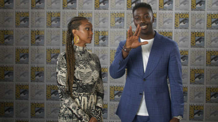 SDCC 2019: Sonequa Martin-Green Welcomes David Ajal To Star Trek: Discovery