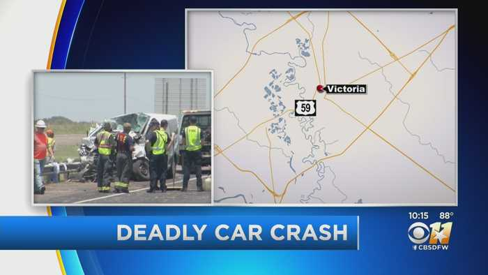 5 People Dead After 3-Vehicle Crash In South Texas
