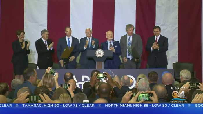 Vice President Pence Helps Celebrate 50th Anniversary Of Moon Landing