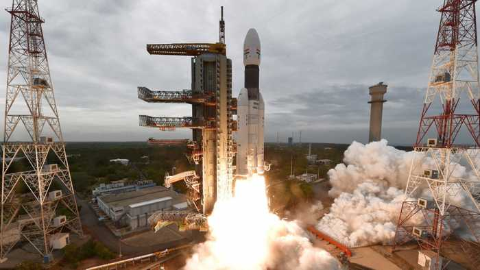 India Successfully Launches Rocket To The Moon