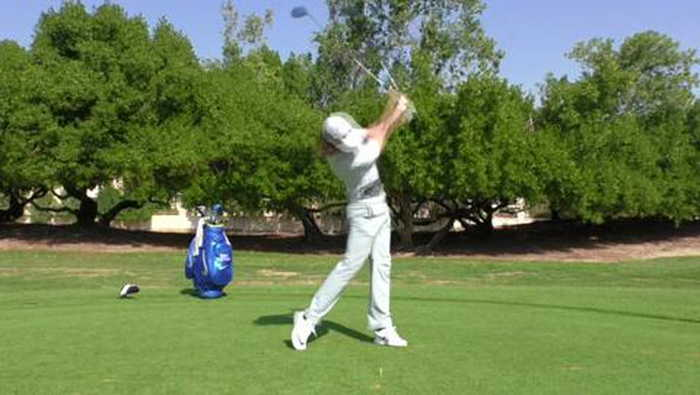 Swing sequence Tommy Fleetwood
