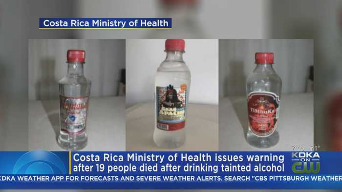 Costa Rica Ministry Of Health Issues Warning Over Tainted Alcohol