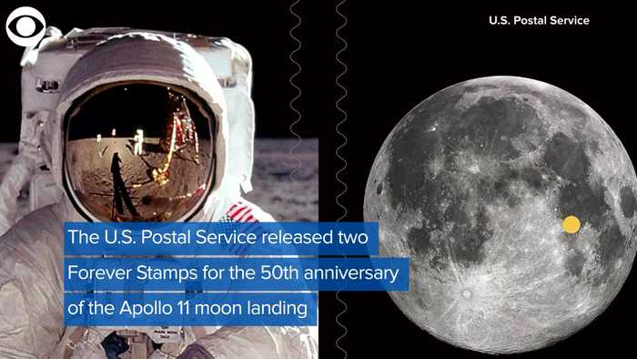 WEB EXTRA: Apollo 11 Forever Stamps