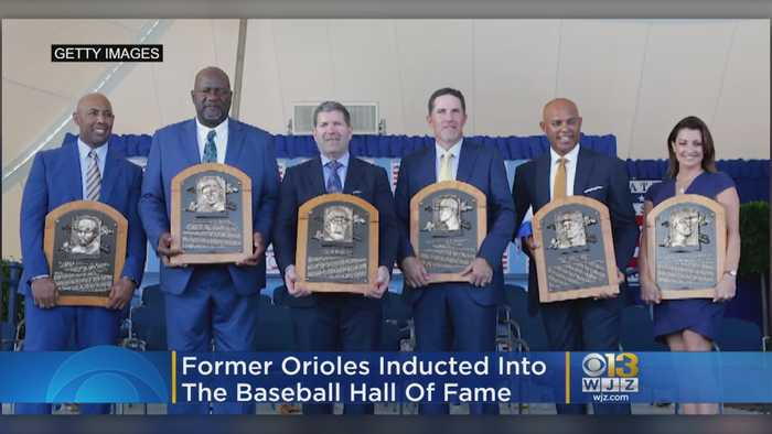 Former Orioles Inducted Into The Baseball Hall Of Fame