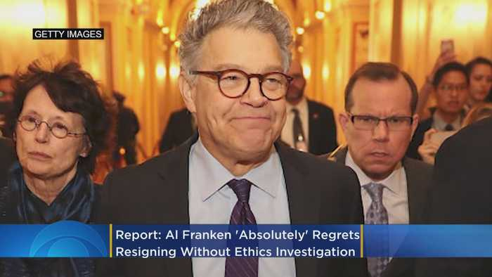 Report: Al Franken 'Absolutely' Regrets Resigning Without Senate Ethics Investigation