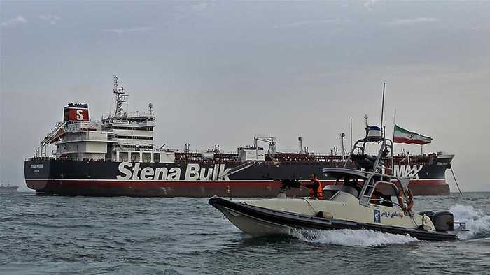 UK tells Iran to release seized oil tanker and crew immediately