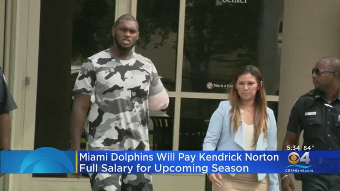 Dolphins To Pay Kendrick Norton Full 2019 Salary Following Career-Ending Injury
