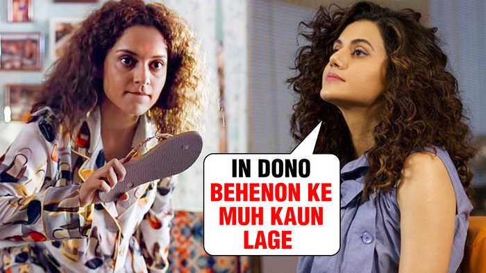 Kangana Ranaut GETS A Fitting Reply From Taapsee Pannu | DON'T PLAY Nepotism Card