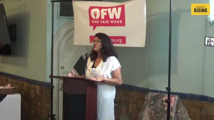 Rep. Tlaib calls for a $20 federal minimum wage