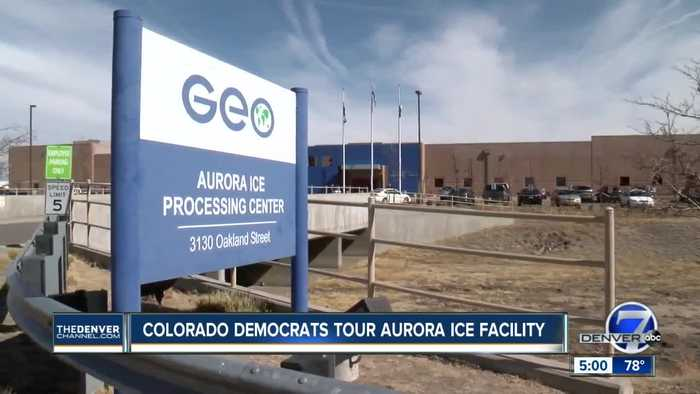 Colorado's congressional Democrats tour Aurora ICE facility, call for changes