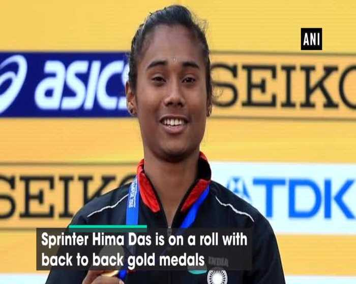 Gearing up for World Championship Hima Das on her winning spree